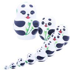 Матрешка «Панда», 10 в 1