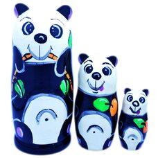 Матрешка «Панда», 3 в 1
