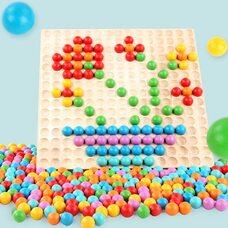 Мозаика «Разноцветные шарики», 110 дет.