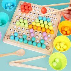 Мозаика «Цветные шарики», 77 дет.