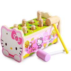 Охота на кротиков «Hello Kitty».