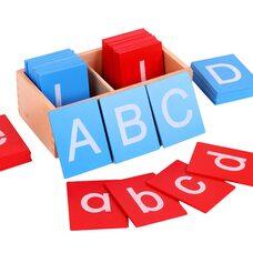 Английские шероховатые буквы