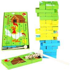 Настольная игра «Дженга-пазлы»