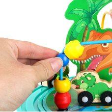 Развивающий бизикуб «Динозавры»
