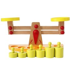 Деревянная игра «Весы»