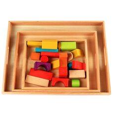 Поднос деревянный для материалов Монтессори