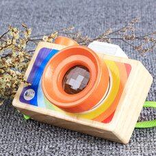 Деревянный фотоаппарат