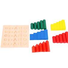 Игра «Геометрия» Монтессори