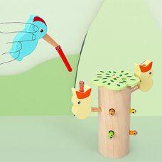 Магнитные гусенички «Дятел» (цветной)