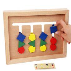 Логическая игра «4 цвета» (фигуры)