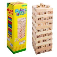 Настольная игра «Дженга» (неокрашенная), 48 дет.