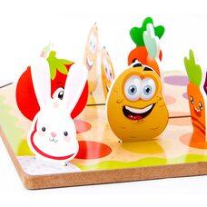 Настольная игра «Собери овощи» (Лудо)