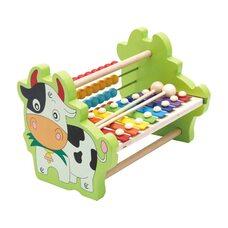 Счеты-ксилофон «Коровка»