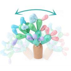 Деревянный кактус с буквами