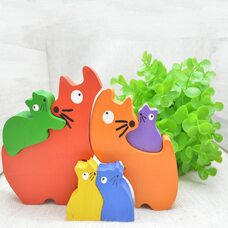 «Семья кошек» 3D пазл, 6 дет.