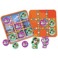 Настольная магнитная игра «Крестики-нолики», 44 Кота
