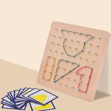 Деревянный математический планшет «Геоборд»