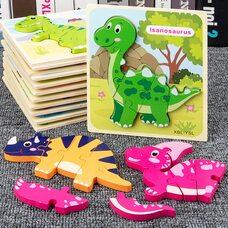 Объемные пазлы «Динозавры»