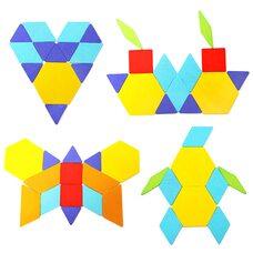 Геометрический пазл «Сложи узор», 206 дет.