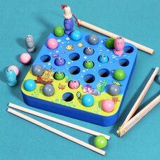 Игра-рыбалка с шариками «У моря»