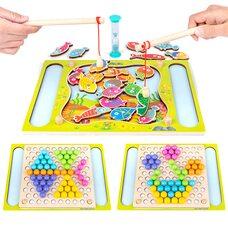 Игра с рыбалкой «Шарики-рыбки»