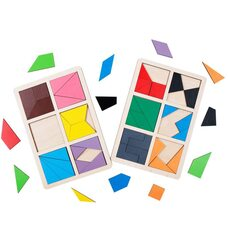Игра «Сложи квадрат» Никитина - 2 уровень от ТМ «Komarovtoys»