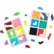 Игра «Сложи квадрат» Никитина - 3 уровень от ТМ «Komarovtoys»
