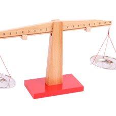 Балансир-весы с тарелочками