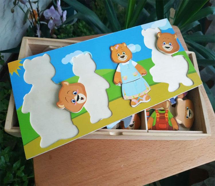 Фото 1. Обзор Гардероб семья медведей