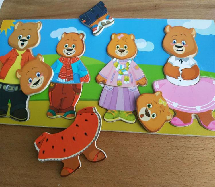 Фото 2. Обзор Гардероб семья медведей