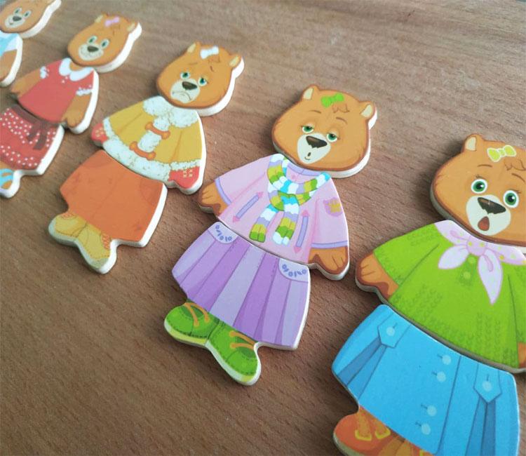 Фото 3. Обзор Гардероб семья медведей