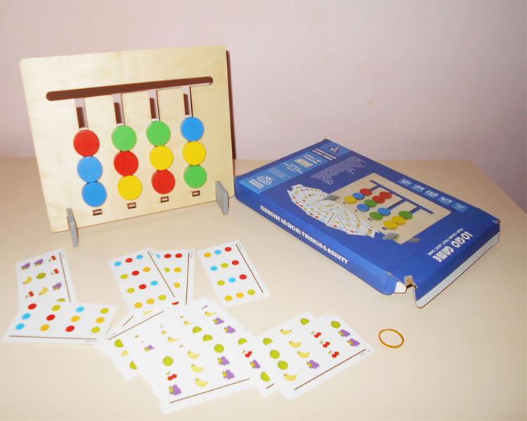 Фото 2. Обзор головоломки сложи по карточках