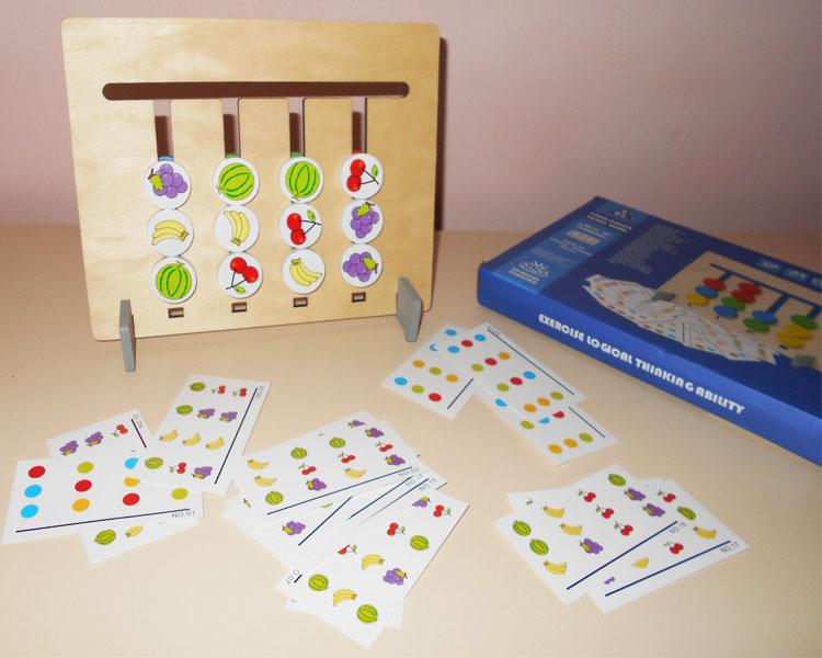 Фото 3. Обзор головоломки сложи по карточках