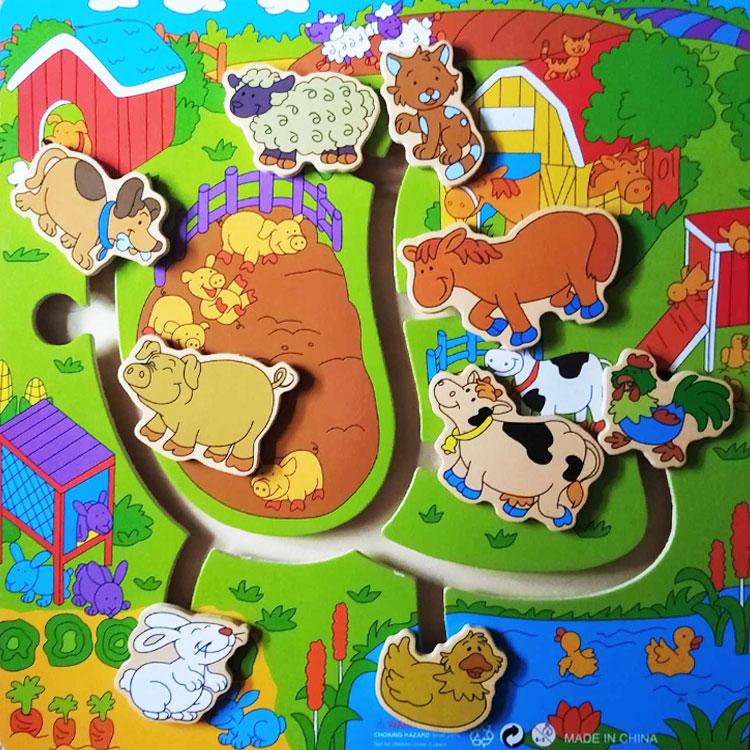 Фото 1. Обзор Бродилка Домашние животные
